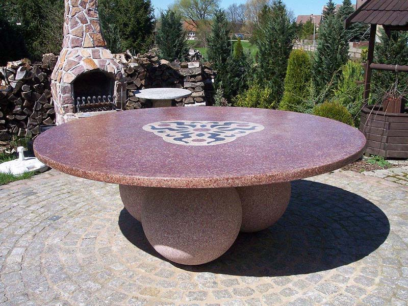 C dankert gmbh for Gartentisch marmor